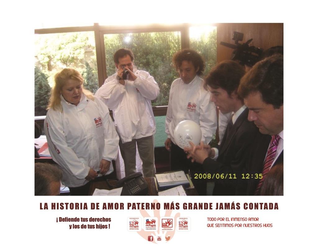 Ingreso Ley Amor de Papá 2008