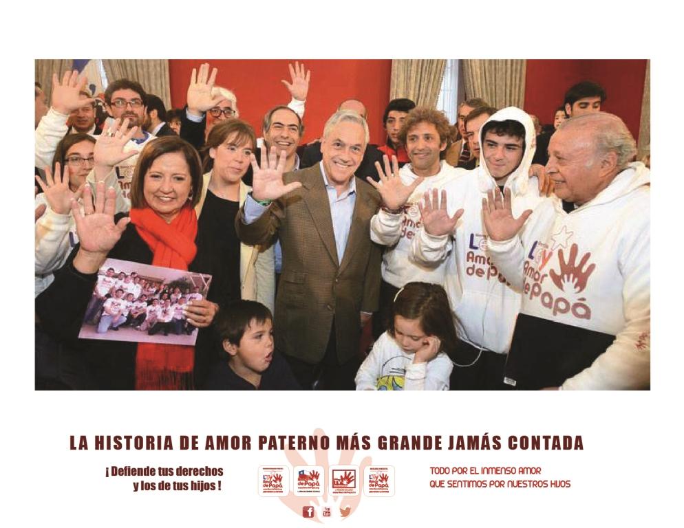Celebrando en La Moneda